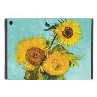 Vincent Van Gogh Three Sunflowers In A Vase iPad Mini Case