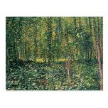 Vincent van Gogh | Trees and Undergrowth, 1887 Postcard