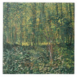 Vincent van Gogh | Trees and Undergrowth, 1887 Tile