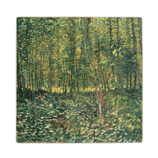 Vincent van Gogh | Trees and Undergrowth, 1887 Wood Coaster