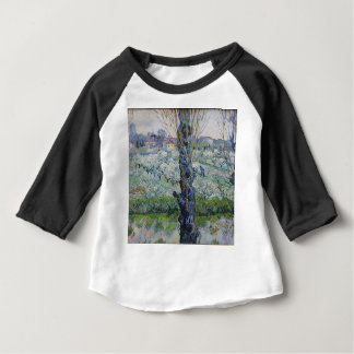 Vincent Van Gogh - Trees Painting Artwork Baby T-Shirt