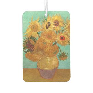 Vincent Van Gogh Twelve Sunflowers In A Vase