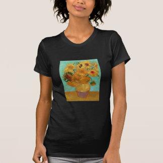 Vincent Van Gogh Twelve Sunflowers In A Vase T Shirt
