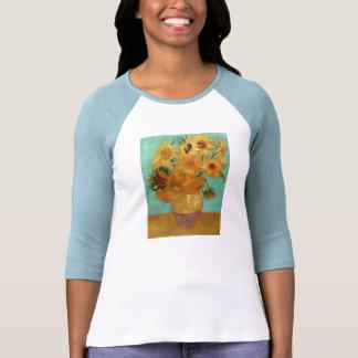 Vincent Van Gogh Twelve Sunflowers In A Vase Tshirts