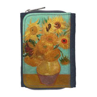 Vincent Van Gogh Twelve Sunflowers In A Vase Wallets