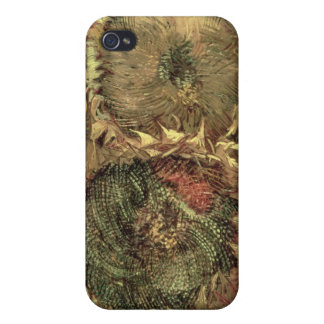 Vincent van Gogh | Two Cut Sunflowers, 1887 iPhone 4 Cover