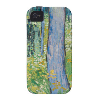 Vincent van Gogh - Undergrowth with Two Figures iPhone 4/4S Cases
