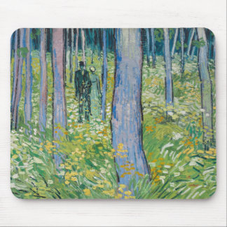 Vincent van Gogh - Undergrowth with Two Figures Mouse Pads
