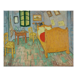 Vincent van Gogh | Van Gogh's Bedroom at Arles Poster