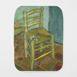Vincent Van Gogh - Van Gogh's Chair with Pipe Burp Cloth