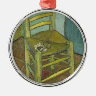 Vincent Van Gogh - Van Gogh's Chair with Pipe Christmas Ornament