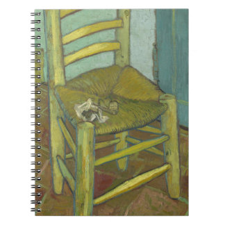 Vincent Van Gogh - Van Gogh's Chair with Pipe Notebook