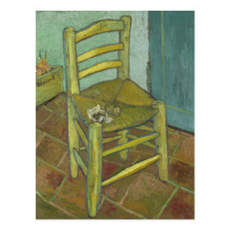 Vincent Van Gogh - Van Gogh's Chair with Pipe Postcard