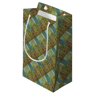 Vincent Van Gogh - Van Gogh's Chair with Pipe Small Gift Bag