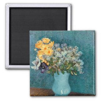Vincent van Gogh   Vase of Flowers, 1887 Magnet