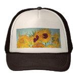 Vincent van Gogh - Vase with 12 Sunflowers Cap