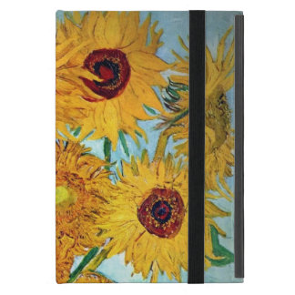 Vincent van Gogh - Vase with 12 Sunflowers iPad Mini Cover