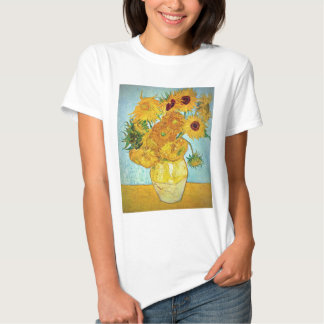 Vincent van Gogh - Vase with 12 Sunflowers Shirts