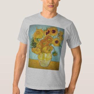 Vincent van Gogh - Vase with 12 Sunflowers Shirts