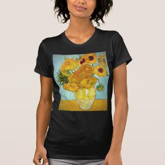 Vincent van Gogh - Vase with 12 Sunflowers T-shirt