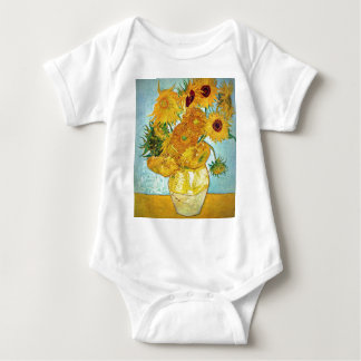 Vincent van Gogh - Vase with 12 Sunflowers Tshirts