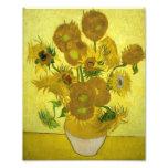 Vincent Van Gogh Vase With Fifteen Sunflowers 1888 Photo Art