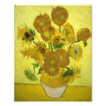 Vincent Van Gogh Vase With Fifteen Sunflowers 1888 Photographic Print