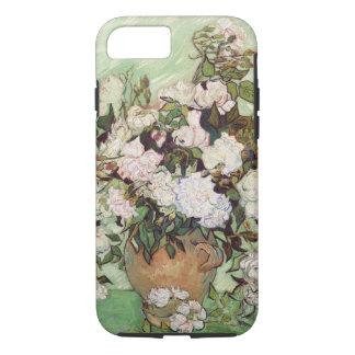 Vincent Van Gogh Vase With Pink Roses Floral Art iPhone 7 Case