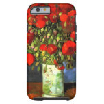 Vincent Van Gogh Vase With Red Poppies Floral Tough iPhone 6 Case