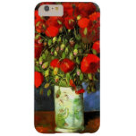 Vincent Van Gogh Vase With Red Poppies Floral Barely There iPhone 6 Plus Case