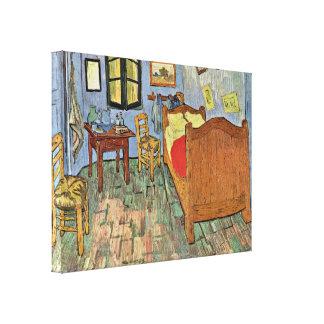 Vincent van Gogh - Vincents Bedroom in Arles Stretched Canvas Prints