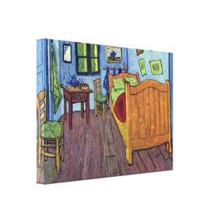 Vincent van Gogh - Vincents Bedroom in Arles Canvas Print