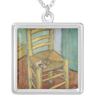 Vincent van Gogh | Vincent's Chair, 1888 Silver Plated Necklace