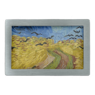 Vincent Van Gogh - Wheat Field with Crows Painting Belt Buckles