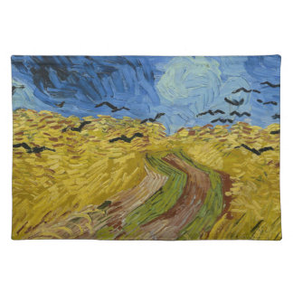 Vincent Van Gogh - Wheat Field with Crows Painting Placemat