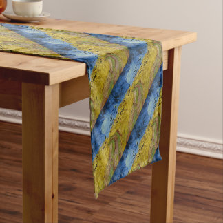Vincent Van Gogh - Wheat Field with Crows Painting Short Table Runner