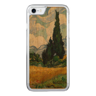 Vincent Van Gogh Wheat Field With Cypresses Carved iPhone 8/7 Case