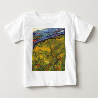 Vincent Van Gogh Wheat Field with Rising Sun Baby T-Shirt