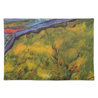 Vincent Van Gogh Wheat Field with Rising Sun Placemat