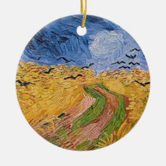 Vincent van Gogh | Wheatfield with Crows, 1890 Christmas Ornament