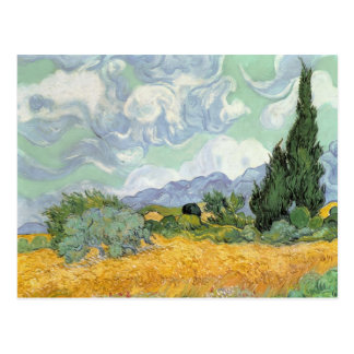 Vincent van Gogh | Wheatfield with Cypresses, 1889 Postcard