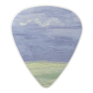 Vincent van Gogh | Wheatfields under Thundercloud Acetal Guitar Pick