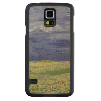 Vincent van Gogh | Wheatfields under Thundercloud Carved Maple Galaxy S5 Case