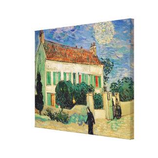 Vincent van Gogh | White House at Night, 1890 Canvas Prints