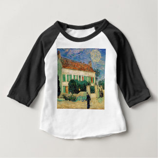Vincent Van Gogh - White House at Night Artwork Baby T-Shirt