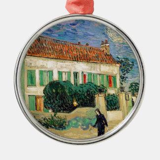 Vincent Van Gogh - White House at Night Artwork Christmas Ornament