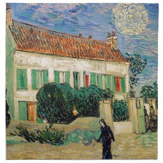 Vincent Van Gogh - White House at Night Artwork Napkin