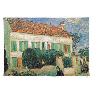 Vincent Van Gogh - White House at Night Artwork Placemat