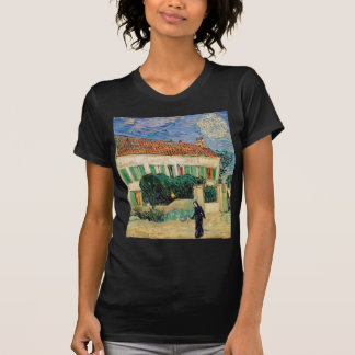 Vincent Van Gogh - White House at Night Artwork T-Shirt