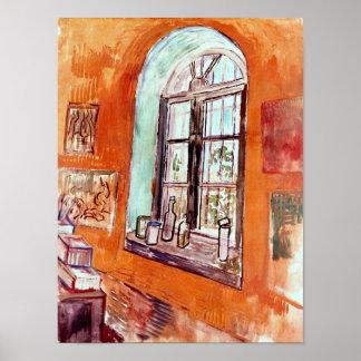 Vincent Van Gogh - Window Of Vincent's Studio Poster